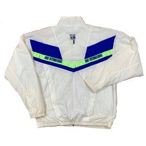 NIKE Vintage Tennis Windbreaker Jacket Coat Large